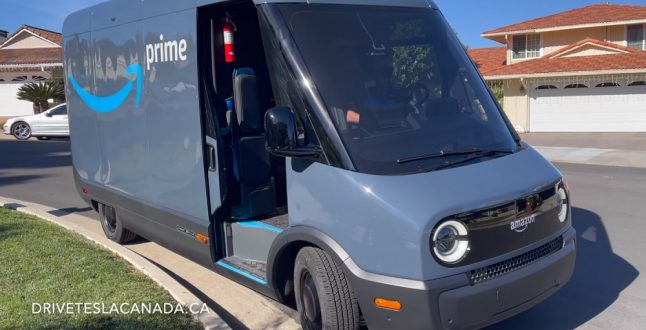 Δείτε το ηλεκτρικό αυτοκίνητο-delivery της Amazon εν δράση [βίντεο]