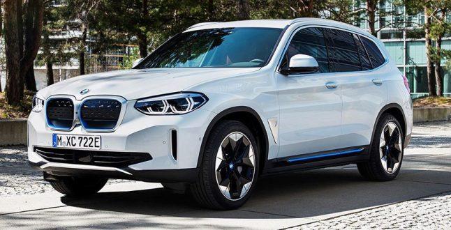 BMW iX3 Spy Images