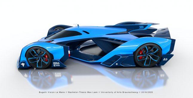 Bugatti Vision Le Mans concept / Max Lask