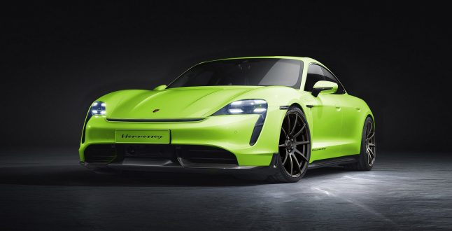 Porsche Taycan Hennessey