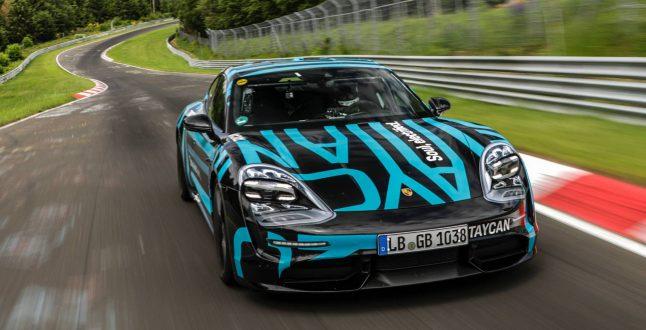 Porsche Taycan Nürburgring Record