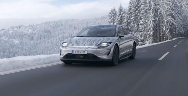 VISION-S: Το ηλεκτρικό αυτοκίνητο της Sony βολτάρει στην Ευρώπη