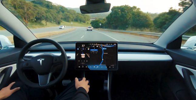 Tesla Self Driving