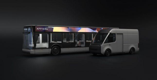 Arrival Bus and Van