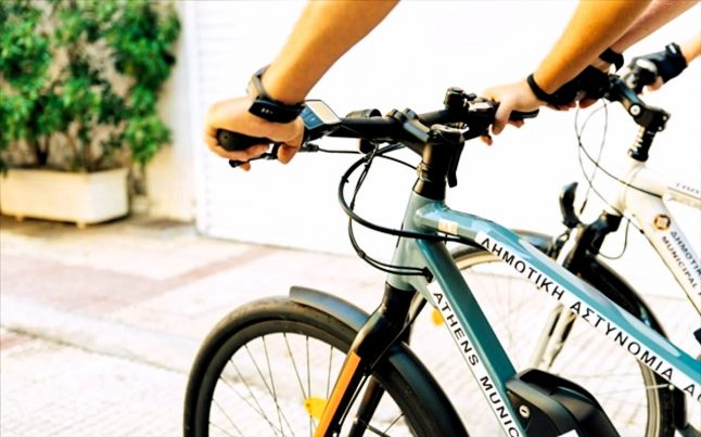 Δημοτική αστυνομία, Αθήνα / ποδήλατα