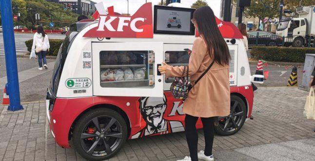 Αυτόνομη καντίνα, KFC