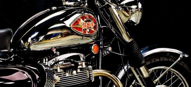BSA motorcycle