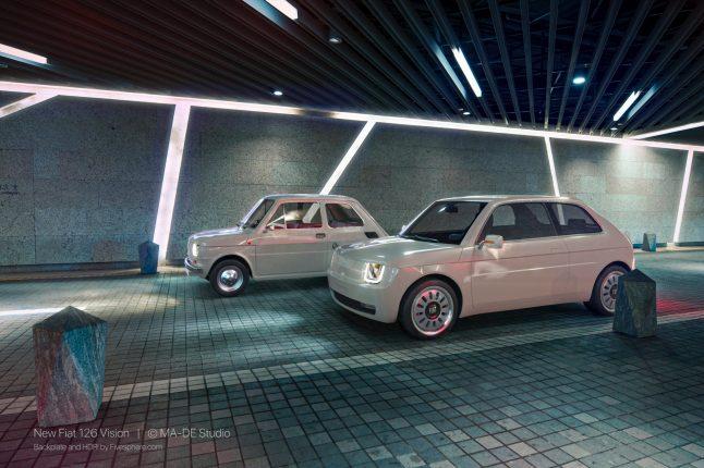 Fiat 126 Vision by MA-DE