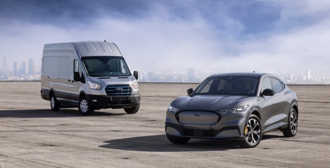 Ford E-Transit & Mustang Mach-E