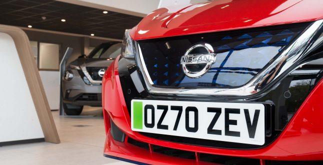 Πράσινες πινακίδες - Nissan