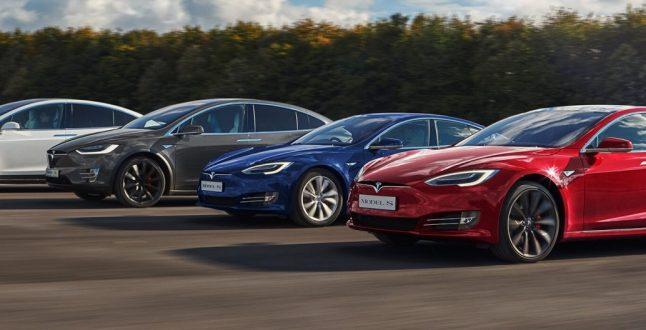 Tesla Models - S, 3, X, Y