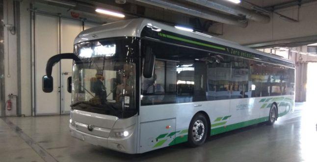 Ηλεκτρικό λεωφορείο Yutong
